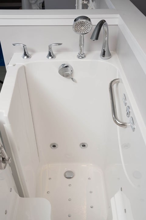 Bath Tubs for Seniors - Accessible Comforts by Cobblestone Homes